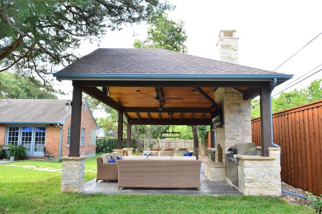 dallas tx custom backyard cabana