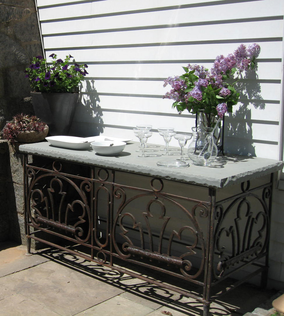 patio serving table houzz