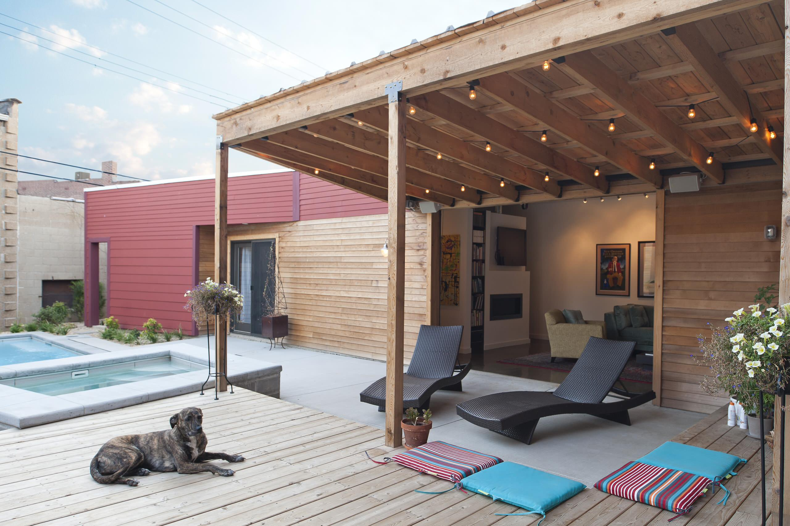 covered attached patio houzz