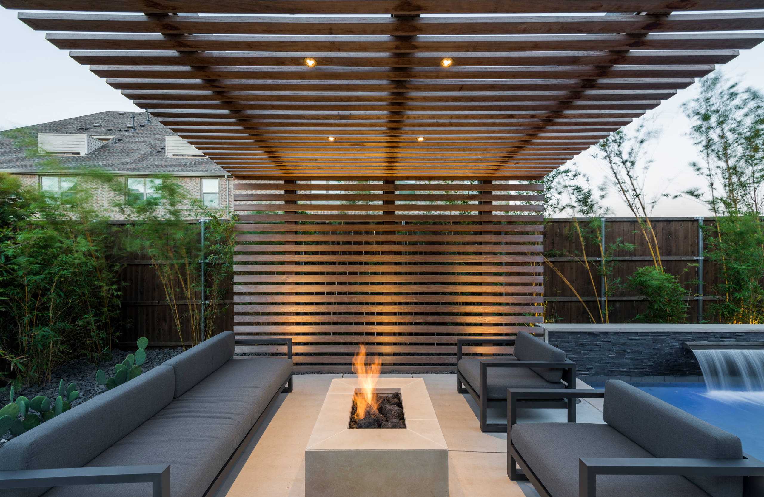 75 beautiful small patio with a pergola