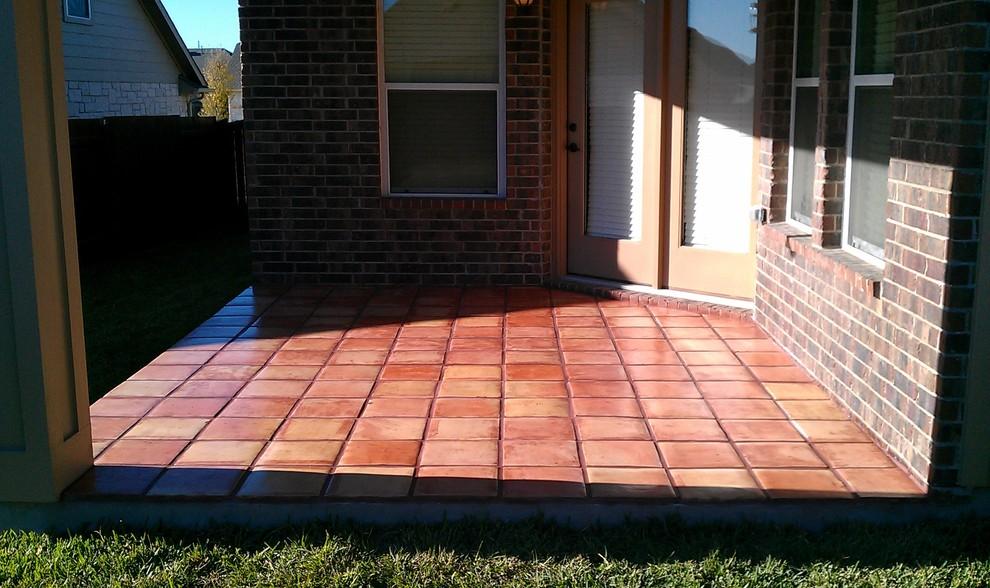 outdoor patio saltillo tile