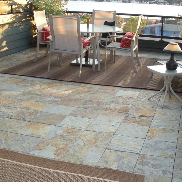 outdoor slate floor tiles
