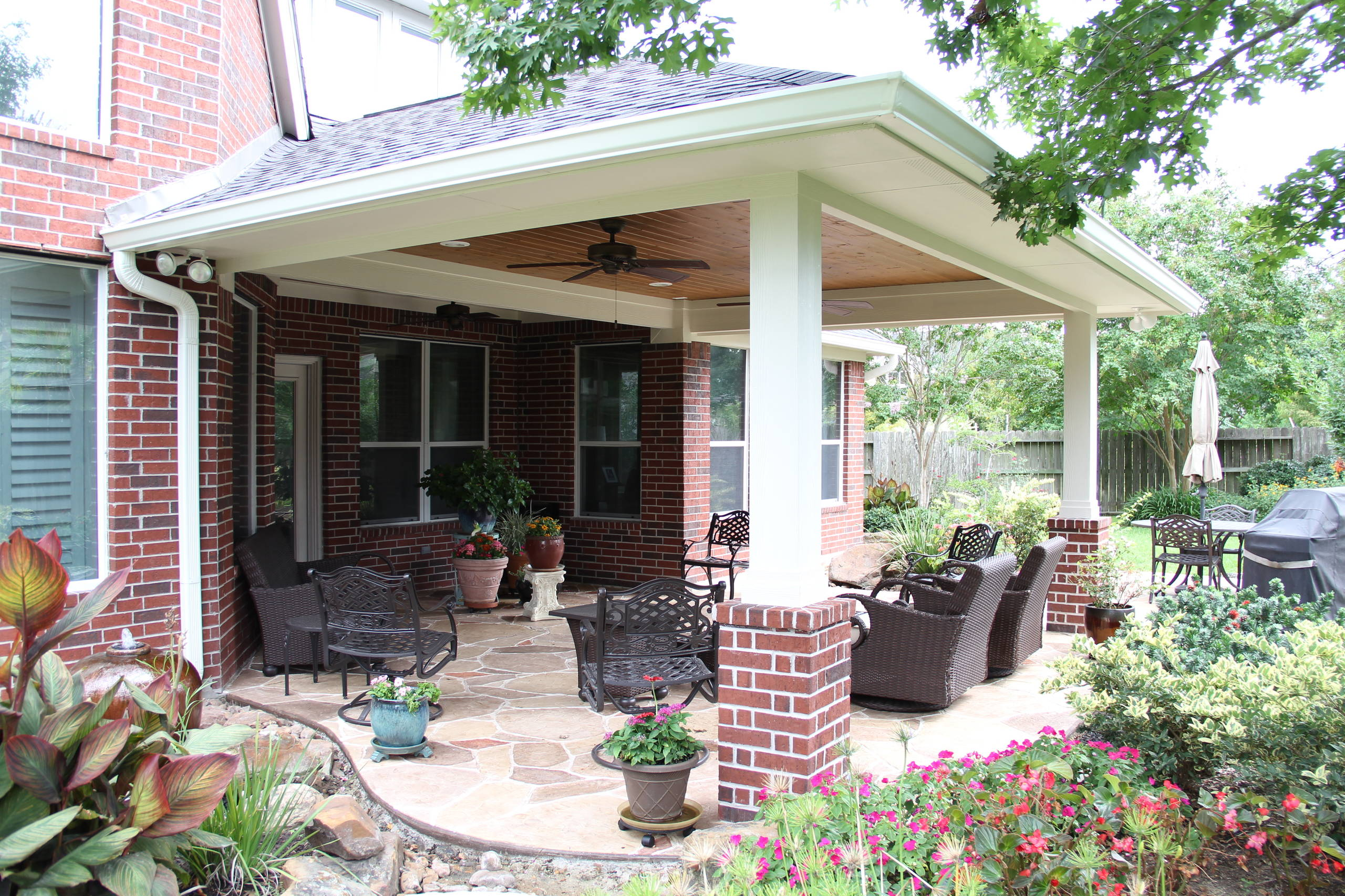 covered patio addition houzz