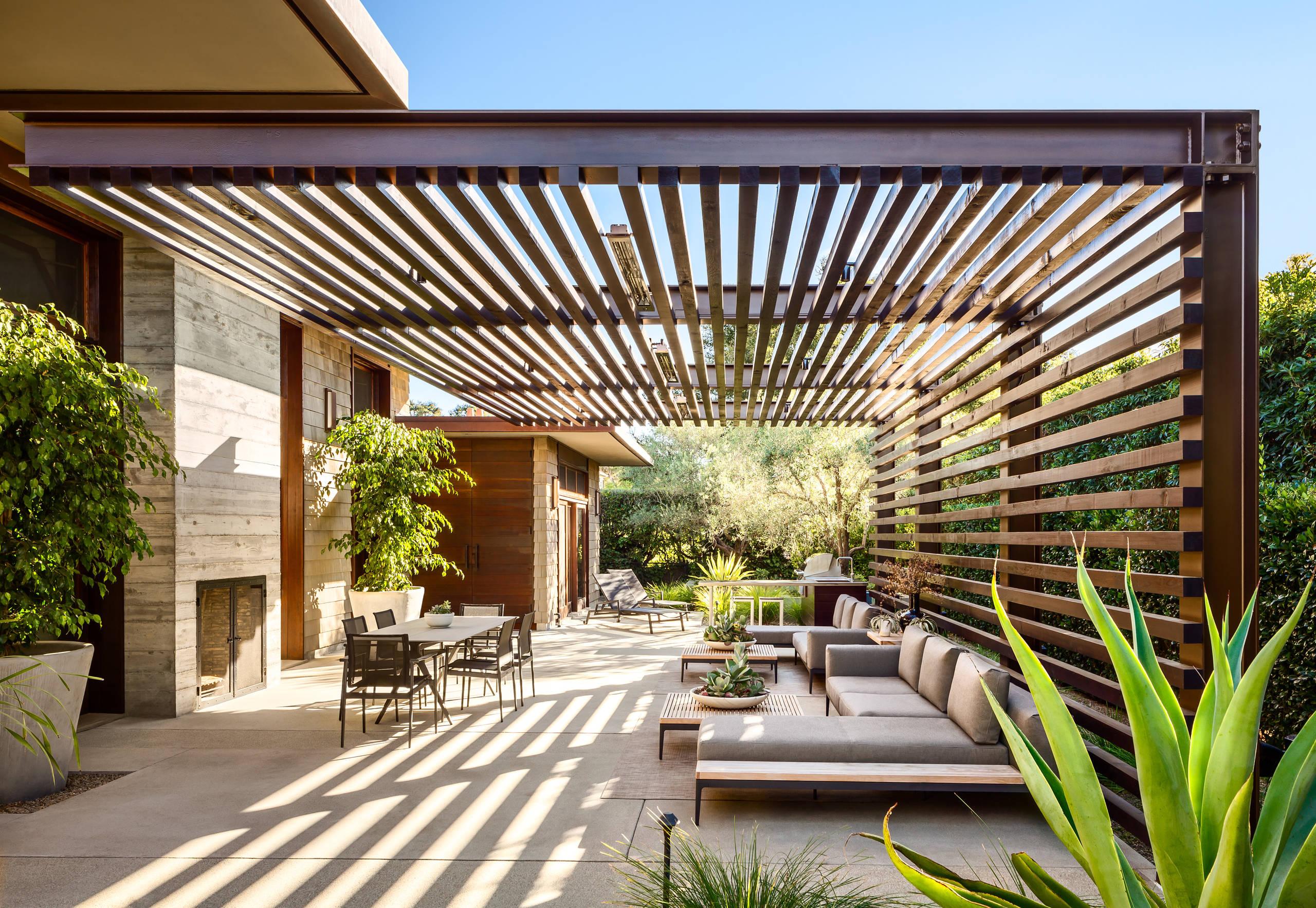 75 beautiful concrete patio pictures