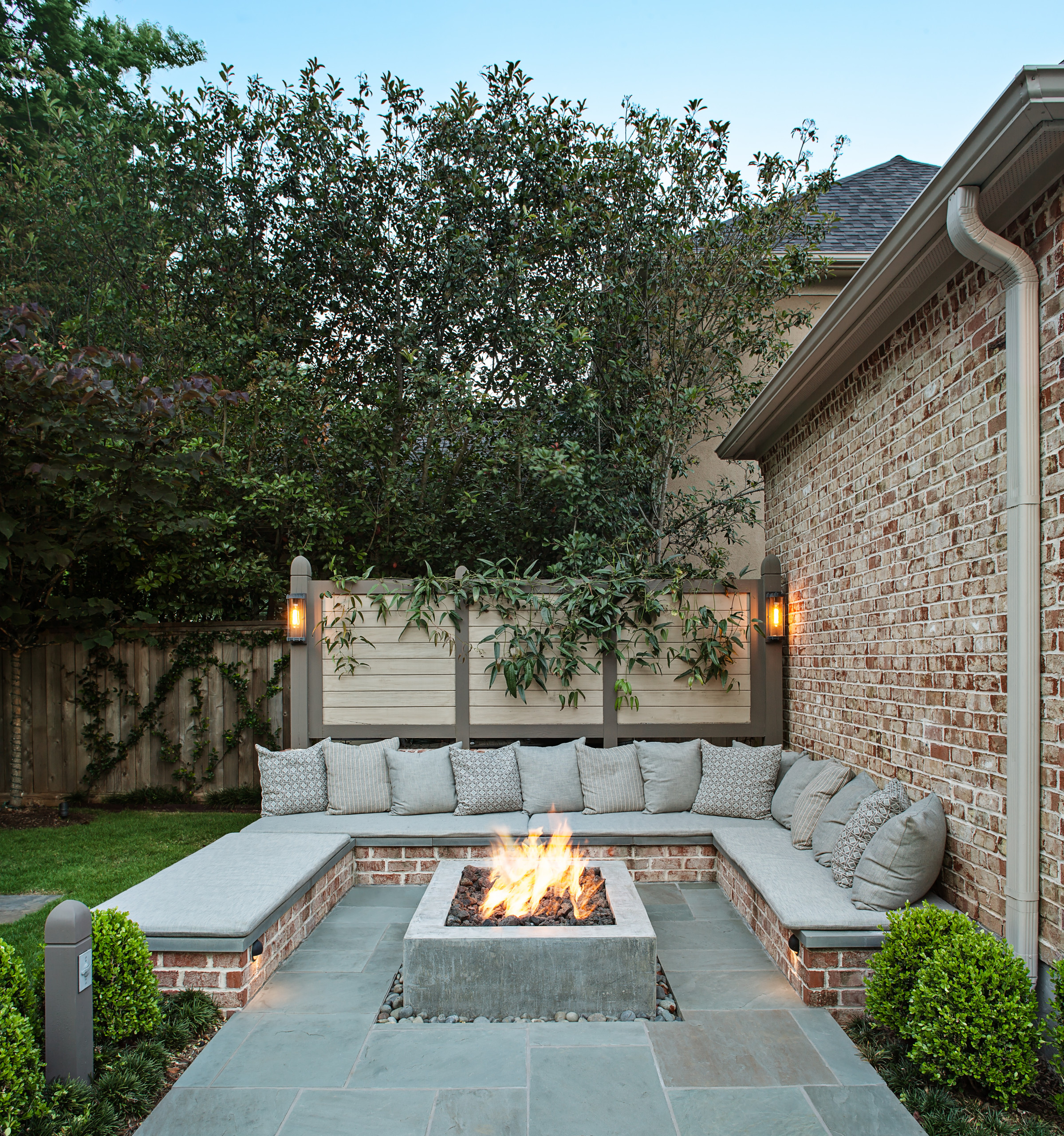 beautiful stone patio pictures ideas