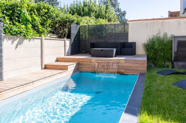 avec piscine modern pool bordeaux