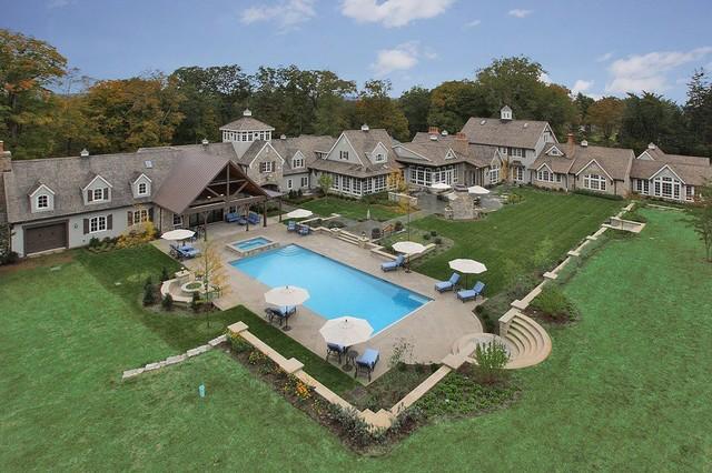 nj backyard swimming pool patio