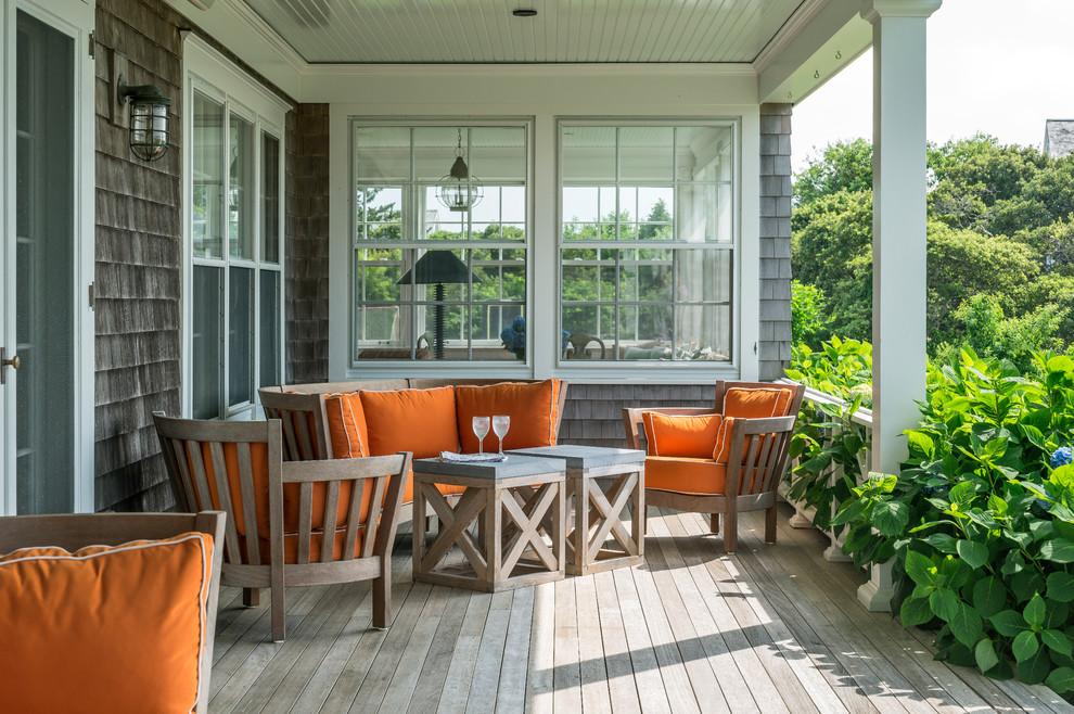 nantucket beach style porch new