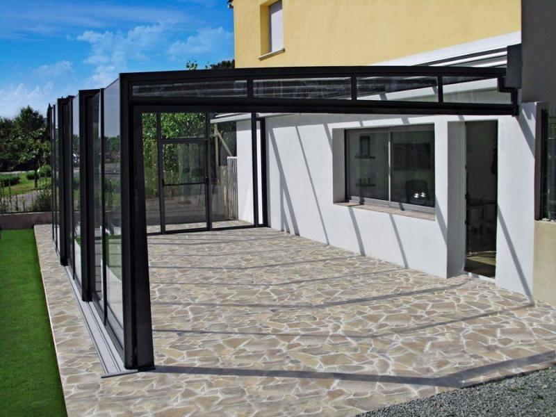 patio enclosure corso glass modern