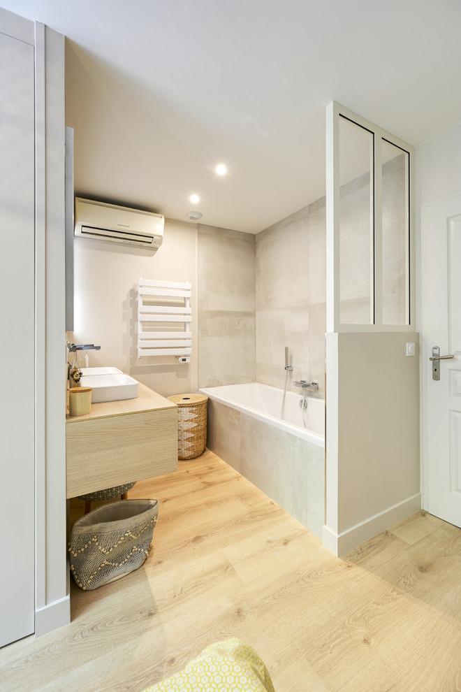chambre parentale avec douche et