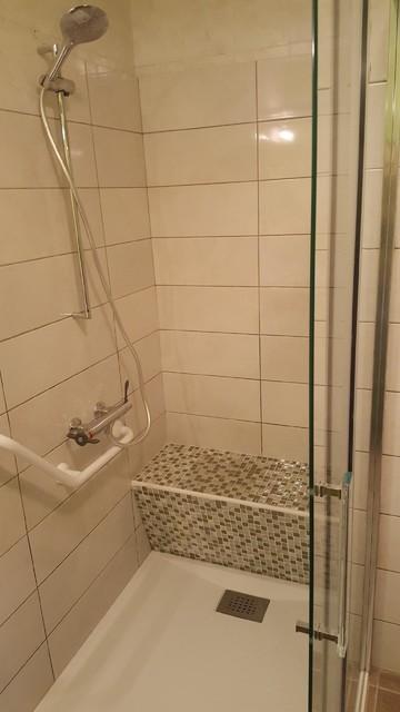 douche italienne avec banquette pate de