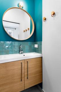 salle de bain turquoise photos et