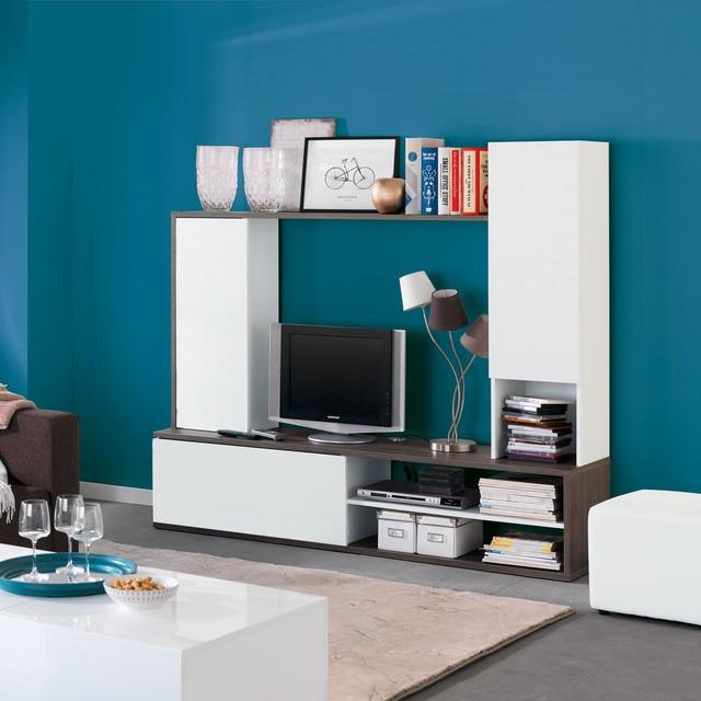 amparo grand meuble tv a fixer au mur