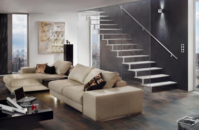 escalier design metal areo