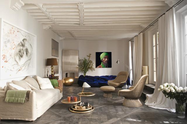 Per questo motivo, arredare il soggiorno con mobili moderni è un modo per personalizzare e rendere unici gli ambienti. Paris Vi Eclectic Living Room Paris By D Mesure Elodie Sire Houzz
