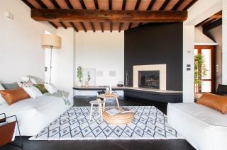 Il soggiorno moderno con camino. Soggiorno Con Camino Ad Angolo Foto E Idee Per Arredare Settembre 2021 Houzz It