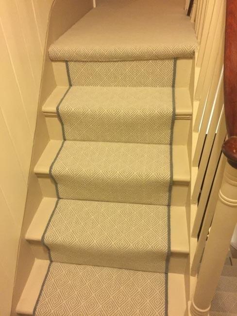 Herringbone Pattern Carpet Ideas Photos Houzz | Grey Herringbone Carpet Stairs | Antelope | Victorian | Middle Stair | Roger Oates | Blue