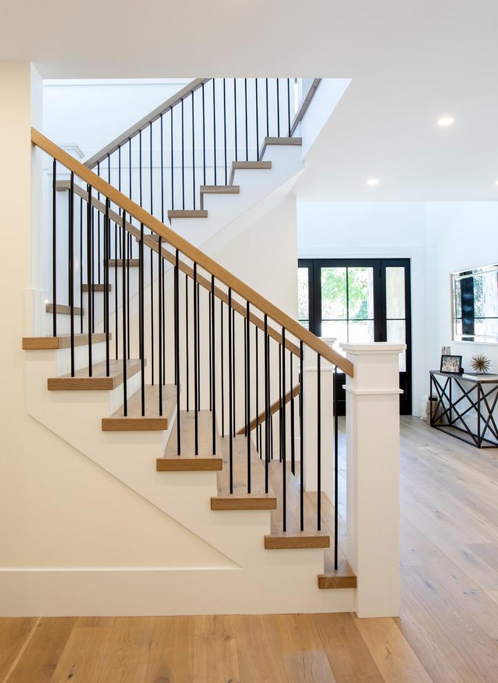 Modern Farmhouse Staircase Ideas : modern, farmhouse, staircase, ideas, Modern, Farmhouse, Court, Staircase, Vancouver, Homes