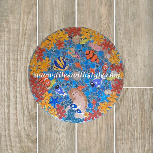 plank ceramic flooring mosaic tile