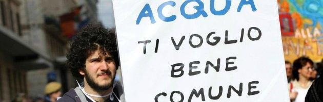 Giornata mondiale dell'acqua, un milione di firme contro la privatizzazione