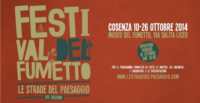 Locandina del Festival del Fumetto di Cosenza