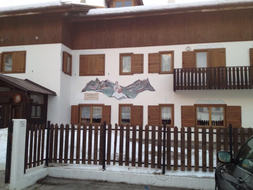Caserme sulle Dolomiti No alberghi a 5 stelle per