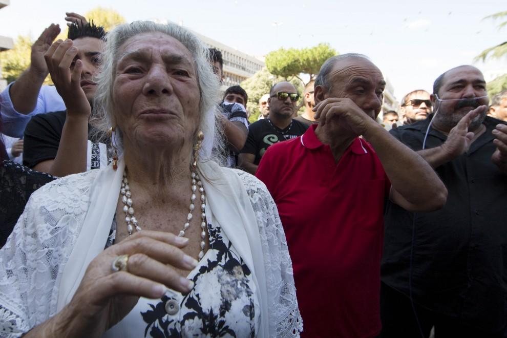 Vittorio Casamonica i funerali del boss Re di Roma