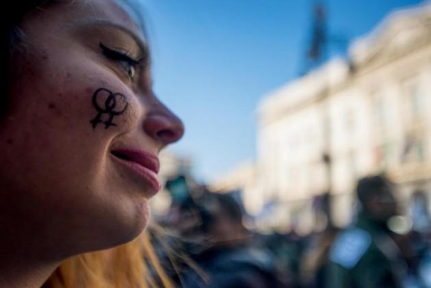 Manifestazione per approvazione del ddl Cirinnà sulle unioni civili