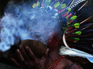 cerimonia indigena a rio