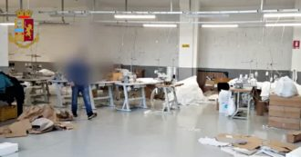 Coronavirus, 1000 square meter laboratory for the production of gowns and masks discovered in Turin. Reported the owner