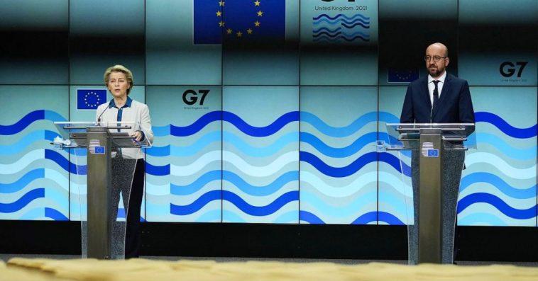 """Il G7 vuole una nuova indagine sulle origini del Coronavirus. Von der Leyen e Michel: """"Necessaria"""". E sulla Russia: """"Condanniamo le attività illegali"""""""