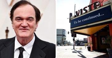 """Il """"gioiello della corona"""" di Quentin Tarantino, il regista ha acquistato lo storico cinema Vista di Los Angeles"""