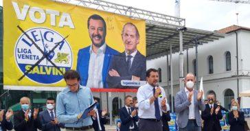 """Veneto, Salvini con Zaia scansa il fuoco amico sul Green pass: """"Evitato l'obbligo vaccinale"""". E rilancia l'abolizione del reddito di cittadinanza"""