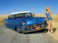 1957 Chevrolet Bel Air Heaven Sent--Lowrider Magazine