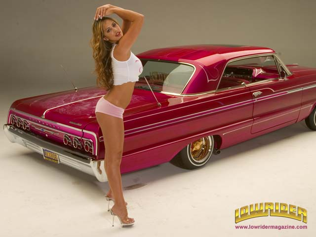 Car Wallpaper Download Sites Lowrider Model Natalie Keen Feb 2006 Lowrider Magazine