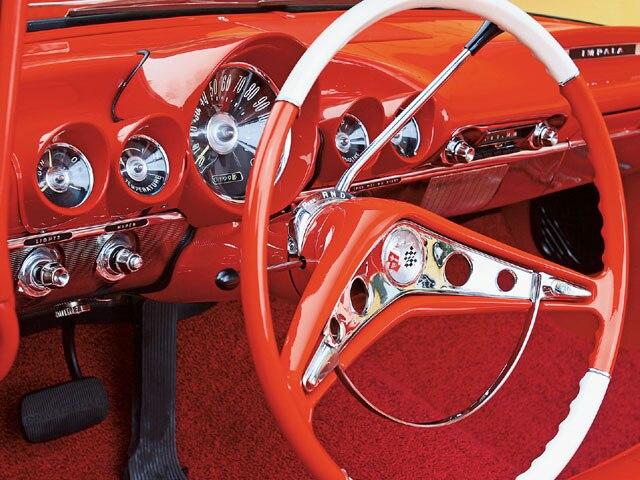 chevy radio 57 human brain diagram sagittal 1959 chevrolet impala red-hot ragtop - lowrider magazine
