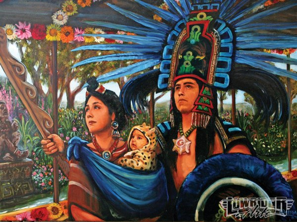 Mexican Aztec Art Women