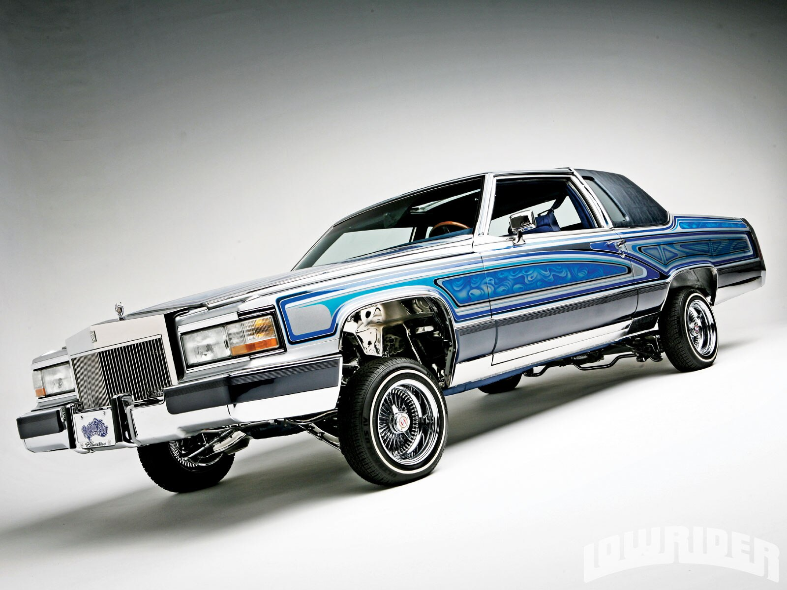 Candy O The Cars Wallpaper 1983 Cadillac Fleetwood Brougham Lowrider Magazine