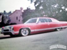 72 Impala Convertible Lowrider - Year of Clean Water