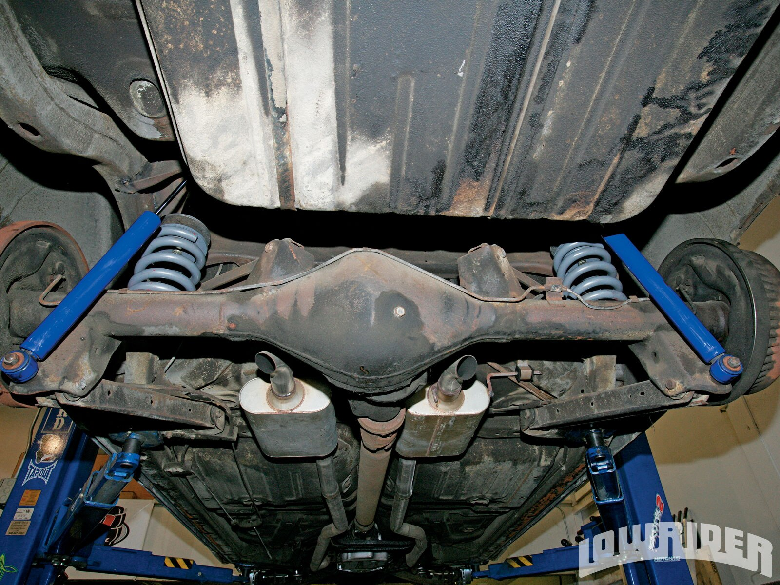 1959 Chevrolet Front Suspension