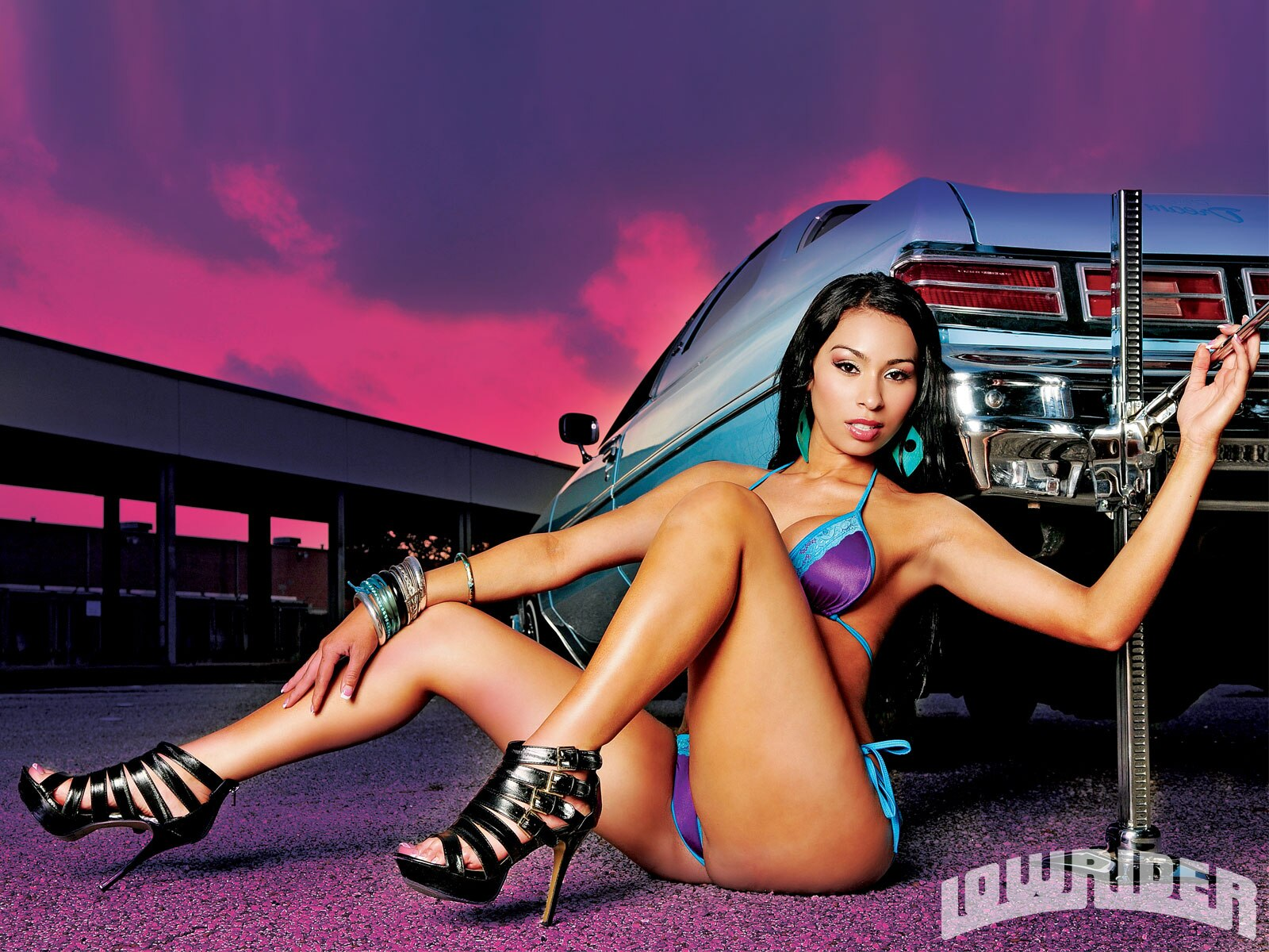 Chola Girl Wallpaper Kristal Lowrider Girls Model Lowrider Girls Magazine