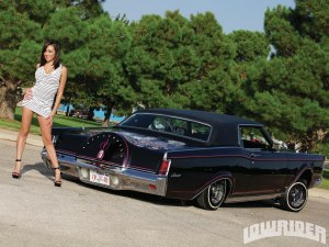 1969 Lincoln Mark III & 1981 Lincoln Town Car  Lowrider Magazine