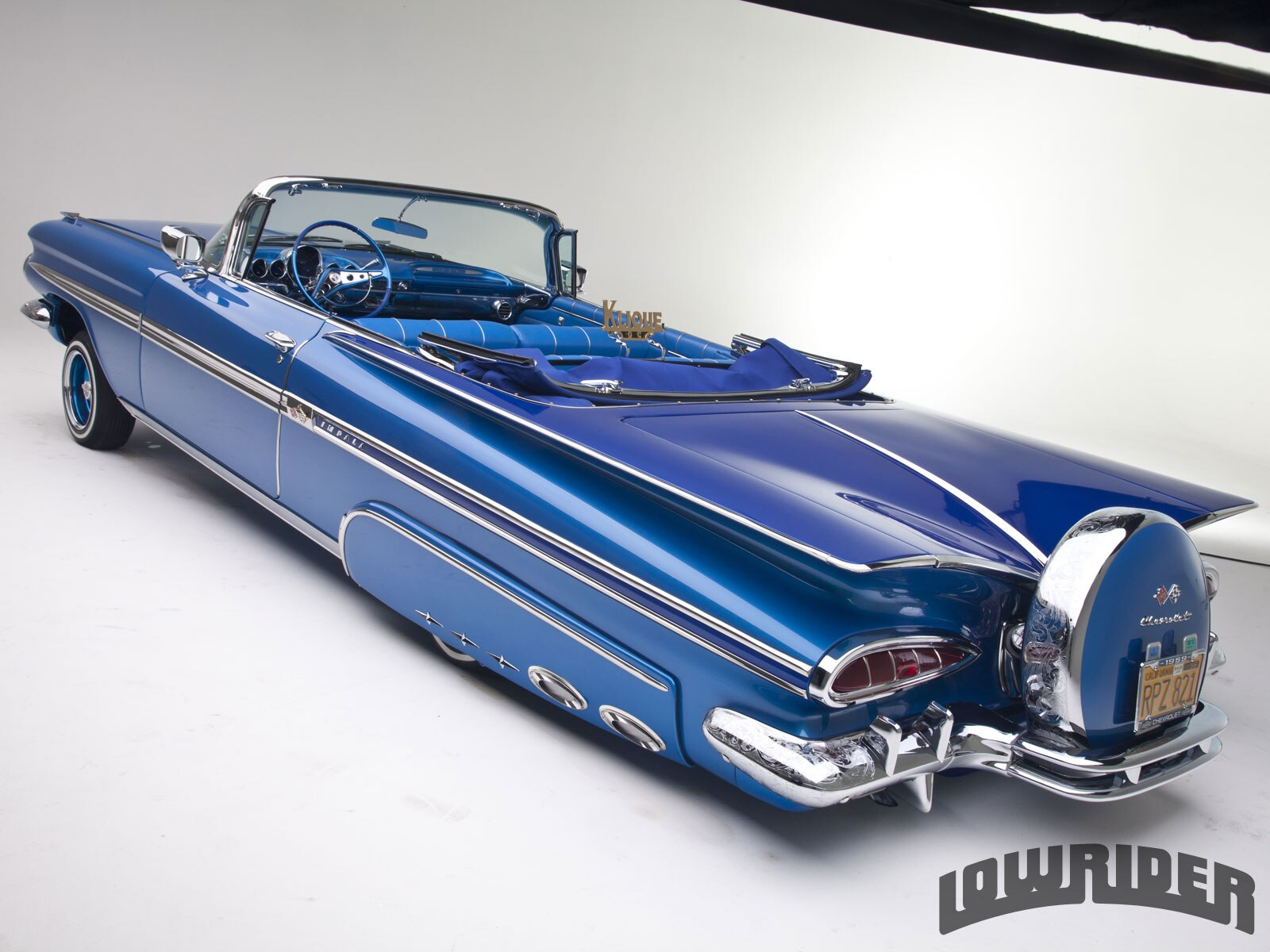 Candy O The Cars Wallpaper 1959 Chevrolet Impala Convertible Lowrider Magazine