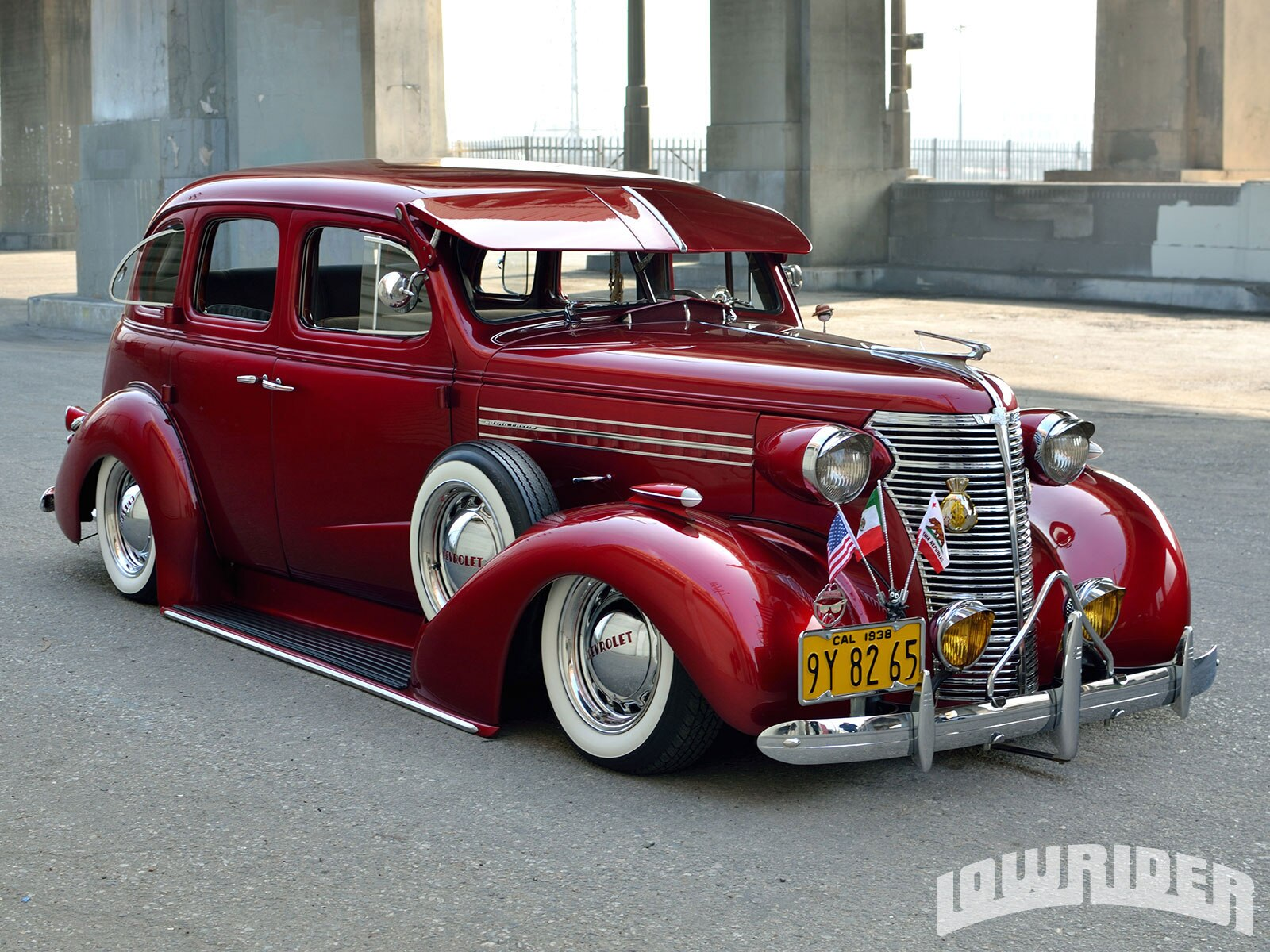 Classic Car Wallpaper 57 Chevy 1938 Chevrolet Master Deluxe Lowrider Magazine