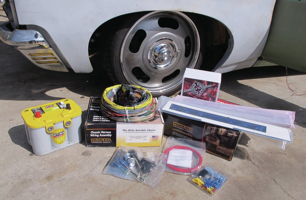 medium resolution of painless wiring kit a very painless rewire easy wiring kits for cars