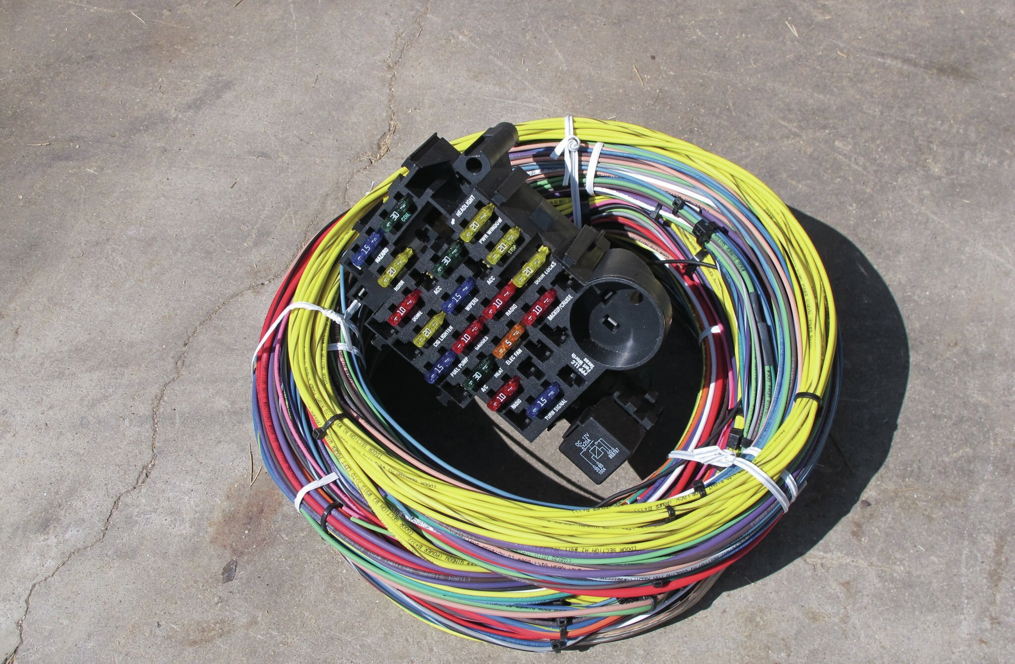 painless wiring ups diagram kit a very quotpainless quot rewire