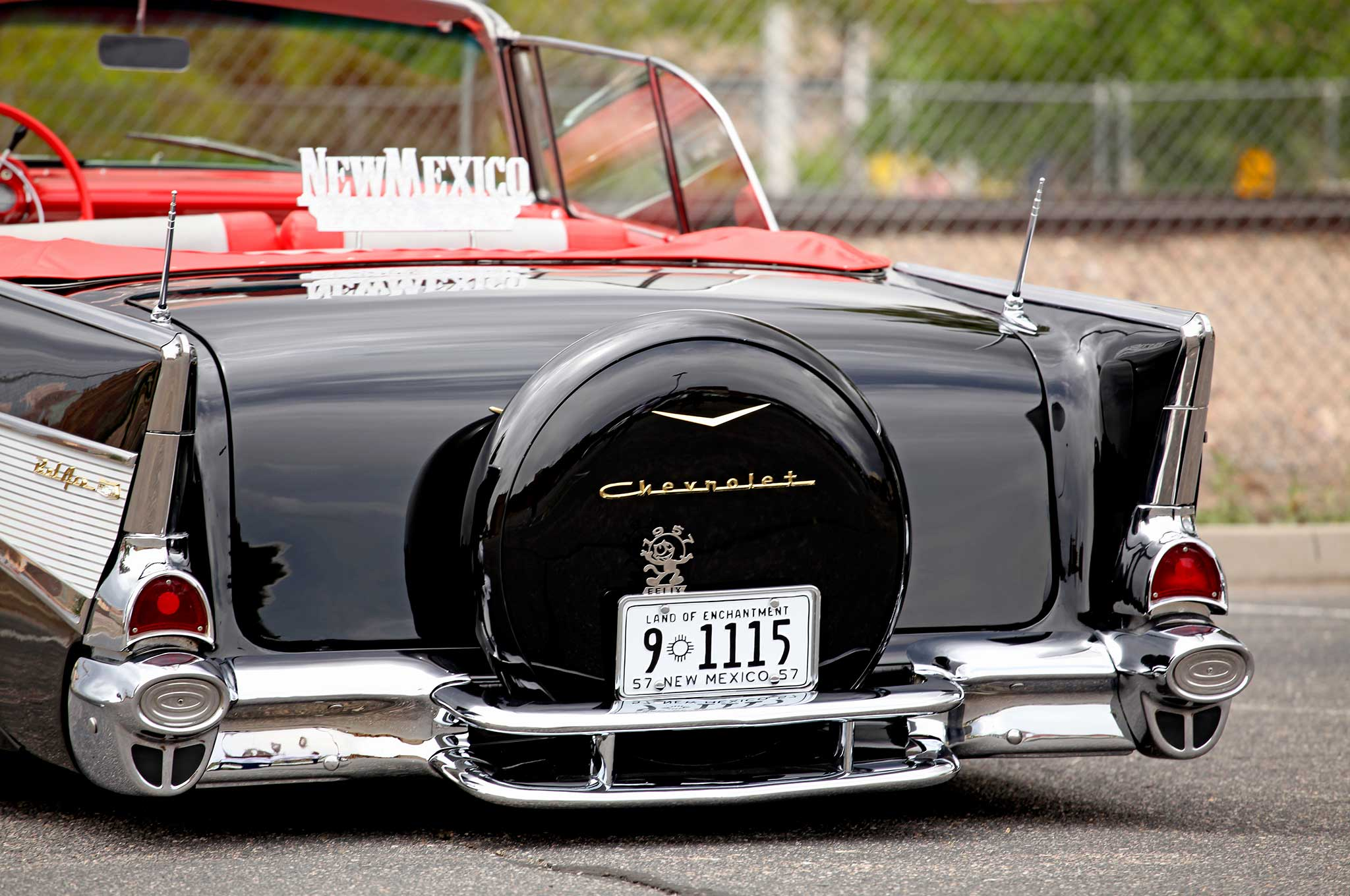 1957 Chevy Bel Air Convertible Lowrider