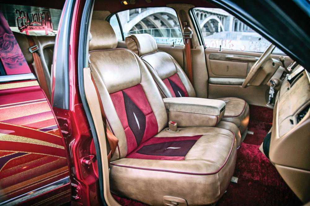 medium resolution of this continental interior package comes with manta ray skin
