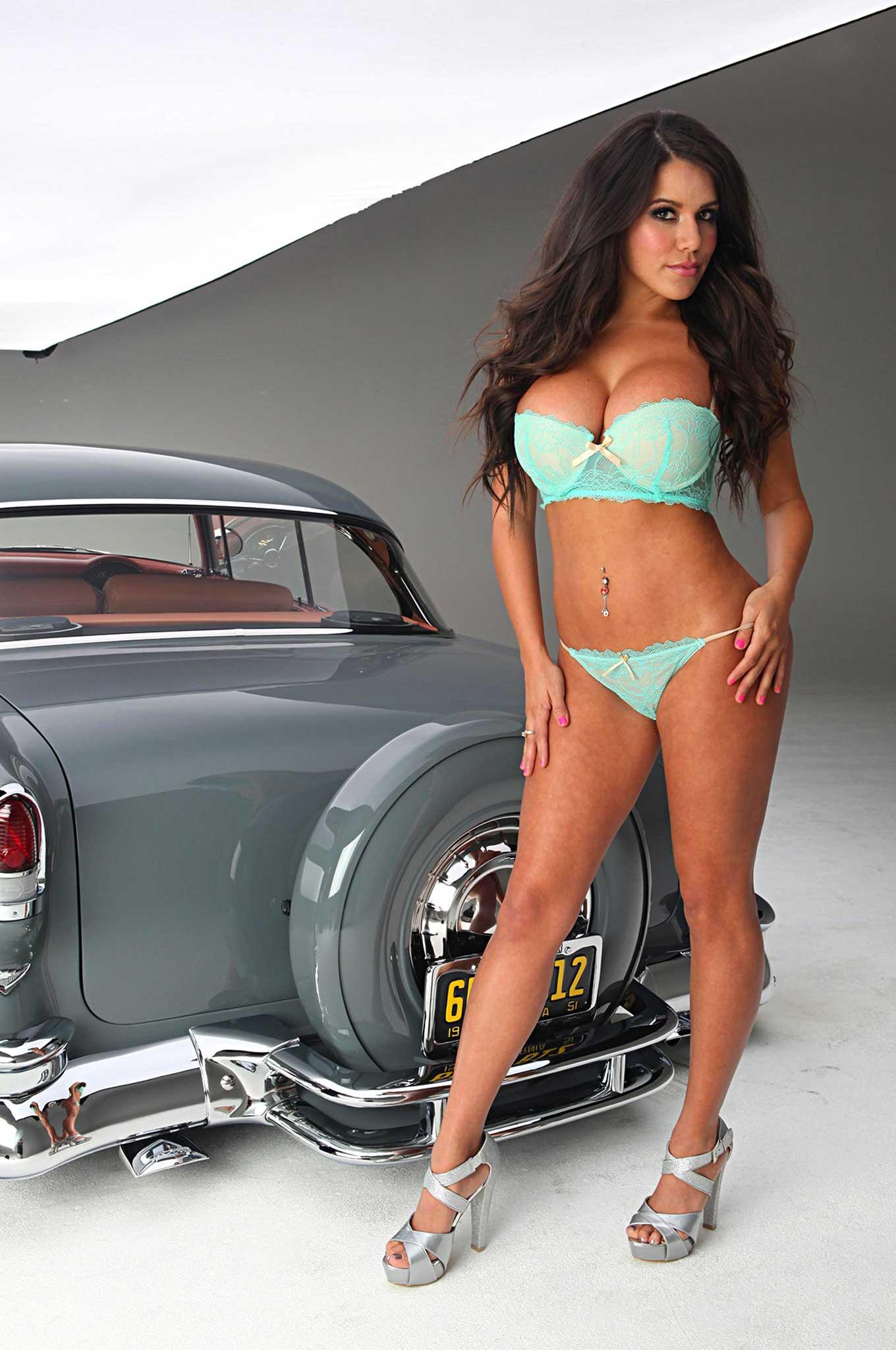 Corvette Girl Wallpaper Never Before Seen Pictures Of Chantel Zales