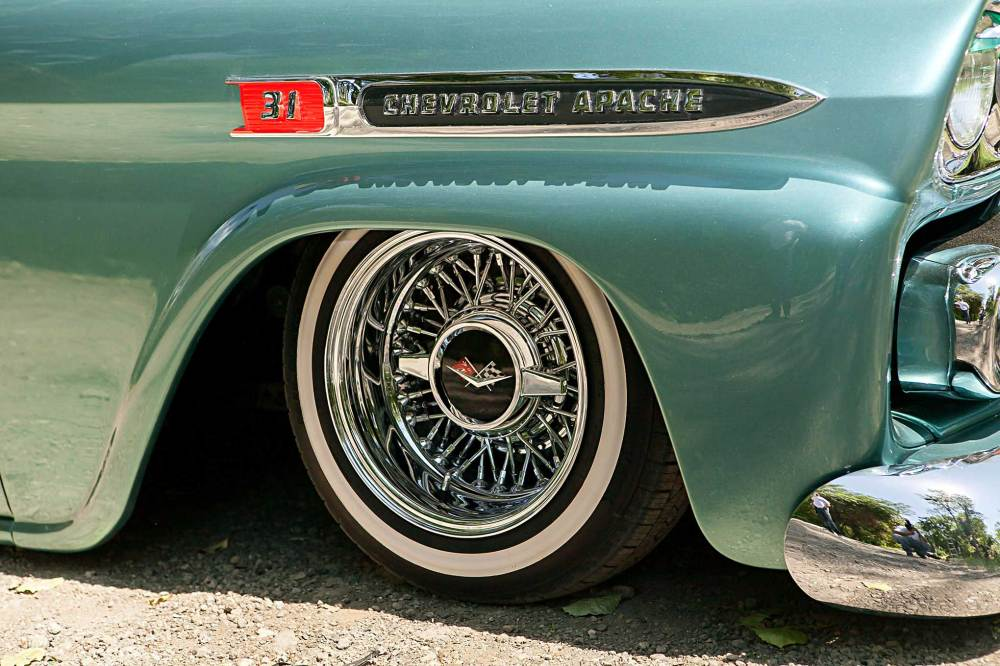 medium resolution of 1959 chevrolet apache tru classic wire wheel